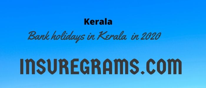 Bank holidays in kerala