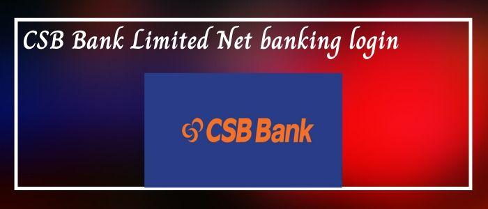 csb net bank