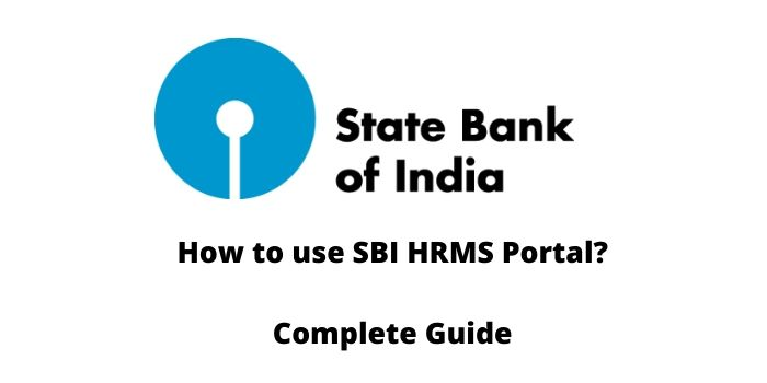 How to use SBI Hrms