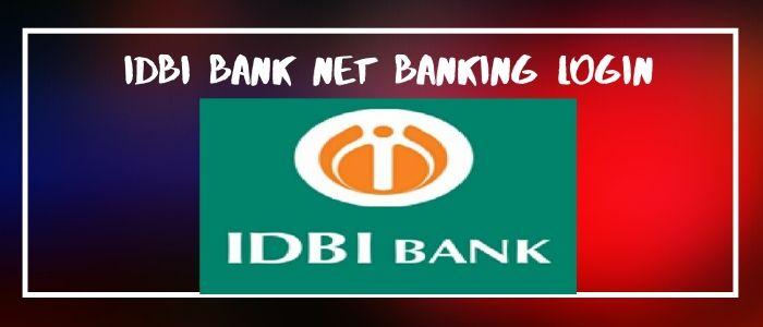 Idbi bank Net Banking login