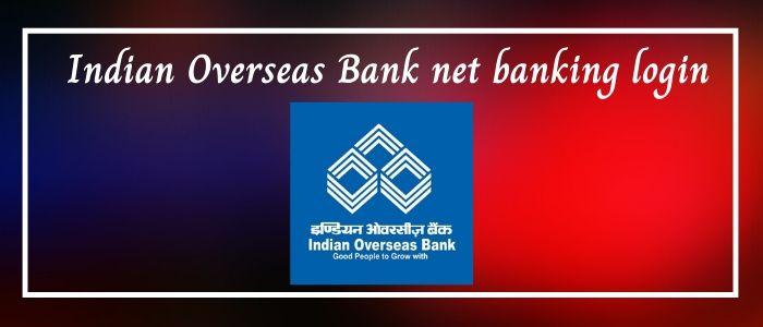 Iob net banking login