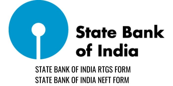 State bank of india RTGS SBI NEFT FORM PDF