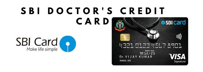 Apply SBI doctor's credit card