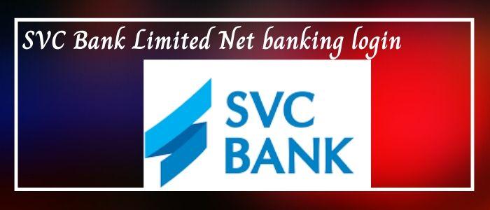 SVC net banking login