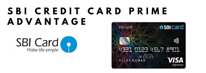 apply SBI credit Card PRIME Advantage