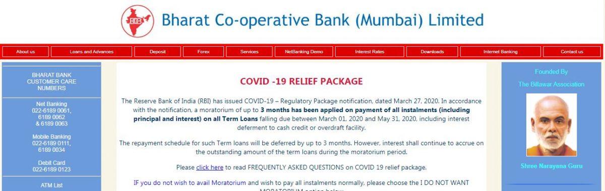 bharat bank online