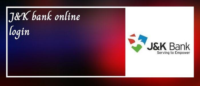 jk bank online login