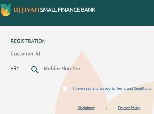 ujjivan small finance bank net banking