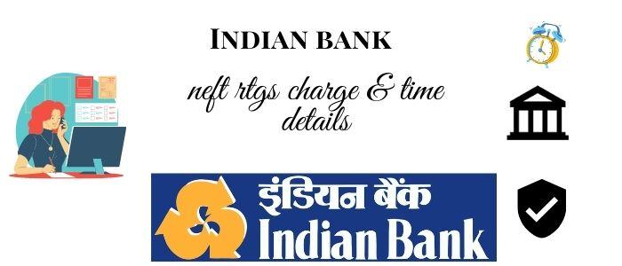 Indian Bank rtgs neft