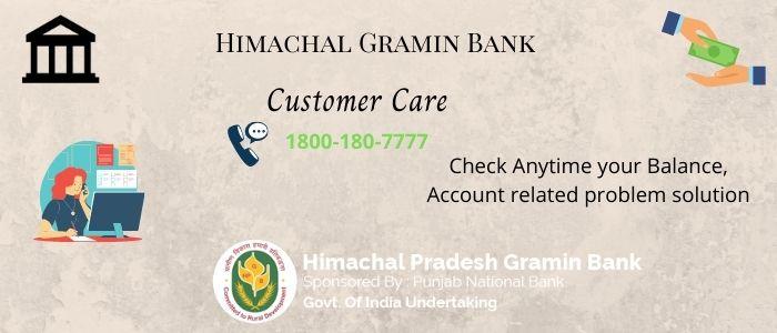 Himachal Gramin Bank Balance Check Number
