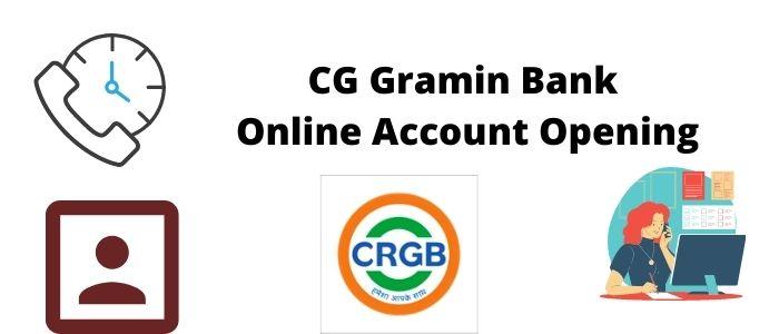 CG Gramin Bank Online Account Opening
