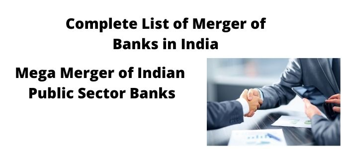 List of Merger of Banks in India