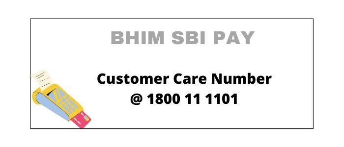 BHIM SBI Pay Customer Care Number