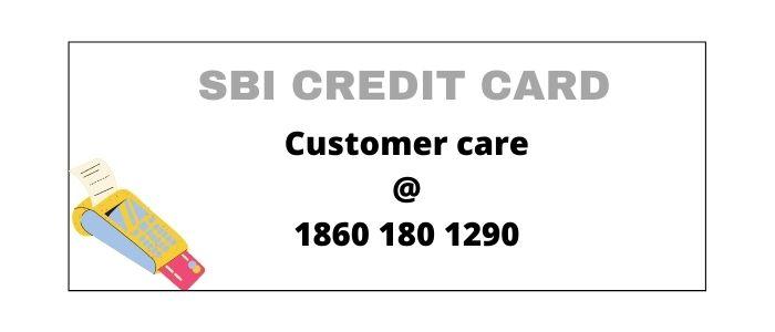 SBI Credit Card Customer Care Number delhi