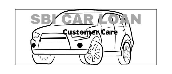 SBI car loan customer care